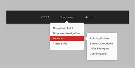design drop down menu css 33 stunning css3 navigation menus css idesignow