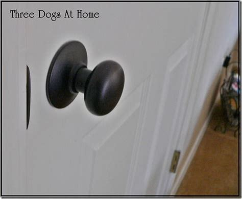 great tips for spray painting doorknobs paint rubbed