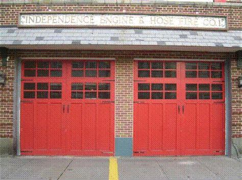Wood Carriage House Garage Doors Northern Nj Garage Door Firehouse Garage Doors