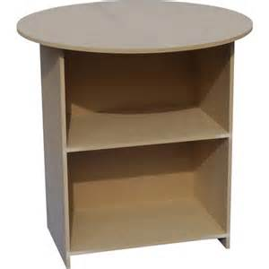 36 inch mdf particle board table end