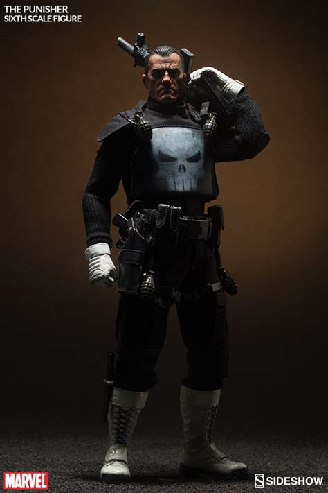 12 Inch Figure Collectibles sideshow exclusive punisher sixth scale figure up for order marvel news