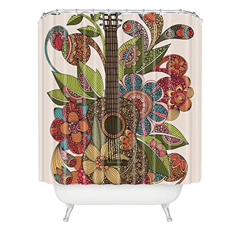 valentina ramos shower curtain deny designs 71 by 94 inch valentina ramos ever guitar