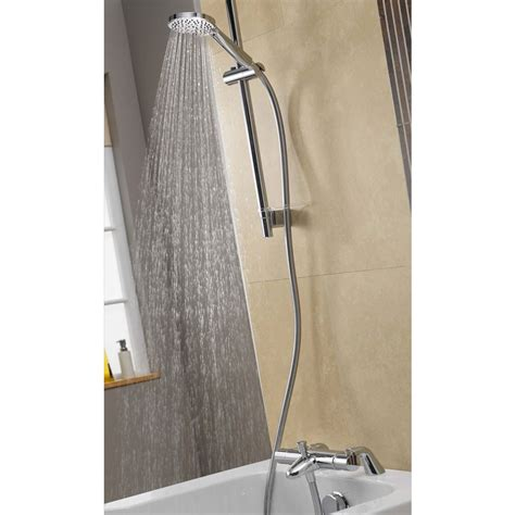 aqualisa midas 300 bath shower mixer with slide rail kit