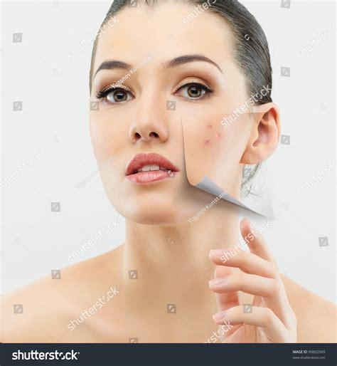 Greybeauty Toscabeauty on grey background stock photo 99802049