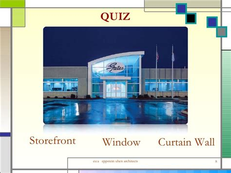 curtain wall vs storefront design application openings