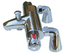 wall deck thermostatic bath shower mixer taps