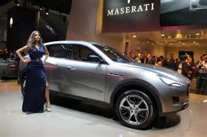 Suv Levante Maserati Maserati Suv Hubang Automotor
