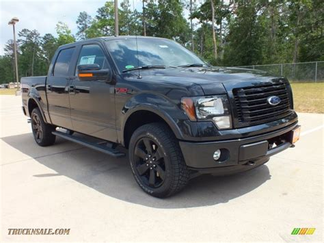 2012 Ford F150 Fx4 by 2012 Ford F150 Fx4 Supercrew 4x4 In Tuxedo Black Metallic