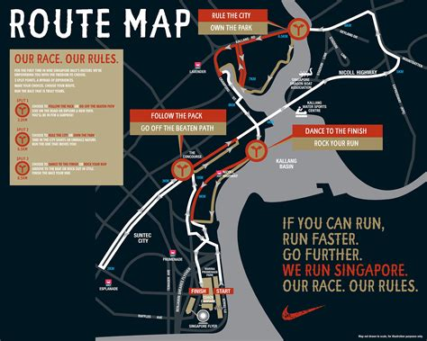 run map runners will get to choose different routes at 2013 nike we run sg 10k