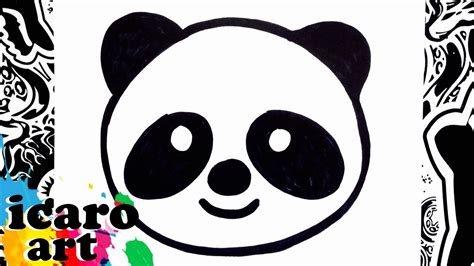 imagenes para whatsapp de osos como dibujar un emoji how to draw emojis panda youtube