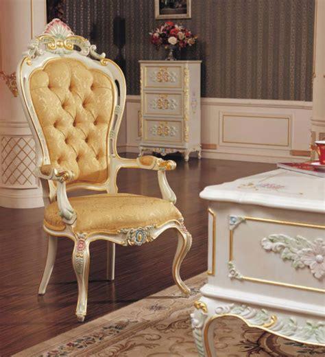 silla de comedor de estilo rococo clasico frances antiguo
