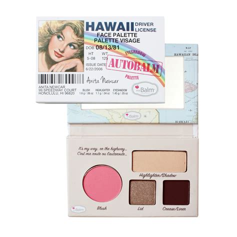 Palatte California By The Balm thebalm autobalm hawaii palette feelunique