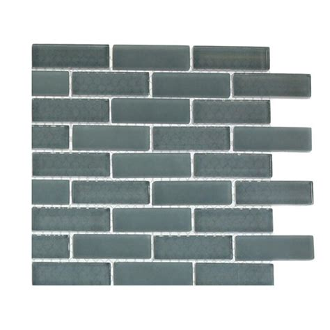 grey pattern wall tiles splashback tile contempo blue gray brick pattern glass