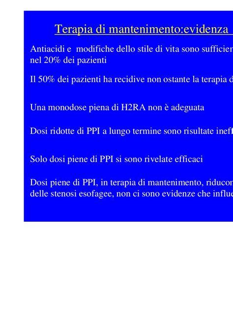 Sofa Empirica la terapia della malattia da reflusso gastroesofageo