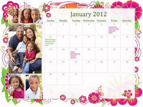 Templates Free 2012 by Free 2012 Calendars For Powerpoint