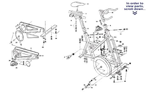schwinn airdyne parts diagram schwinn airdyne upright exercise bike parts all the best