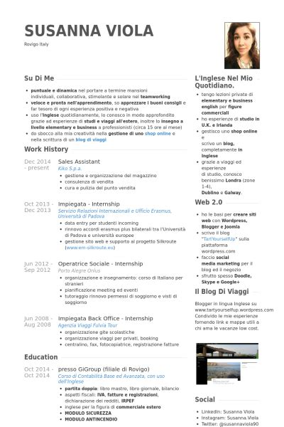 Resume Sles For Educational Assistant Sales Assistant Resume Sles Visualcv Resume Sles