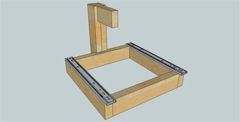 Building Drawer Slides by Building A Drawer Slide Cnc Machine For 200 All