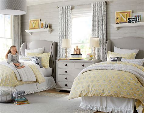 pottery barn girl room ideas if i have 2 girls this would be a great shared bedroom