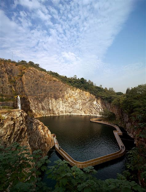 Quarry Botanical Garden Quarry Garden In Shanghai Botanical Garden 03 171 Landscape Architecture Works Landezine