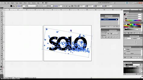 tutorial adobe illustrator indonesia adobe illustrator tutorial compound paths clipping mask