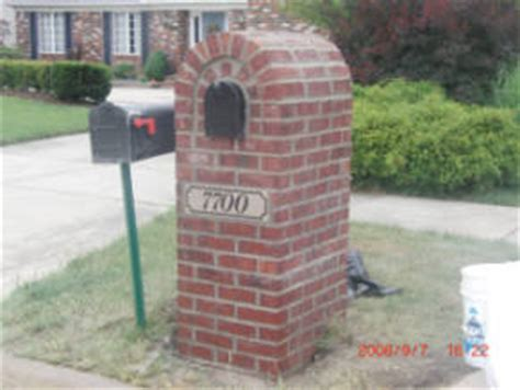 how to decorate a square brick mailbox for christmas cleveland ohio brick mailboxes and mailboxes