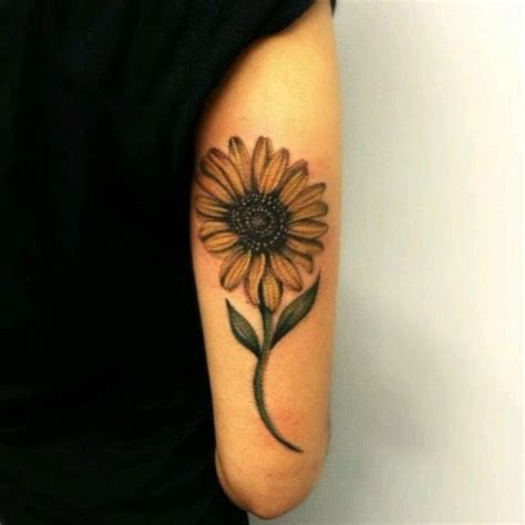 simple sunflower tattoo creativefan