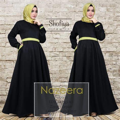 N Anggun Syari Baju Muslim Terbaru Gamis gamis syar i terbaru 2017 nabiilah store