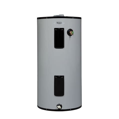 Small Water Heaters At Lowe S Shop Whirlpool 50 Gallon 240 Volt 9 Year Residential