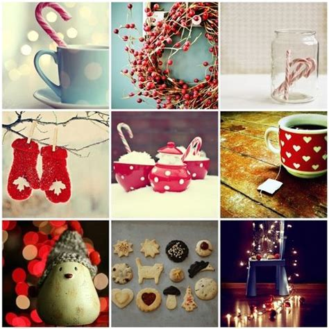 make a collage of your favorite winter things winter