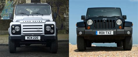 Defender Jeep Jeep Wrangler Vs Land Rover Defender Review Reveals Some