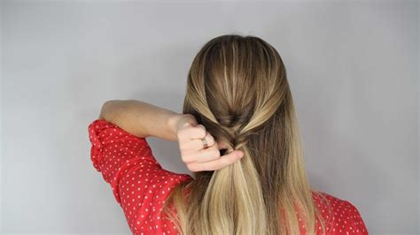 Topsy Hairstyles by Diy Wedding Hairstyle Stacked Topsy Faux Braid