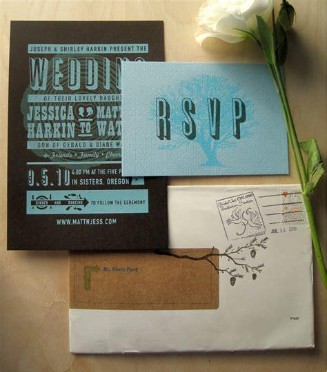 Screen Printing Wedding Invitations by Matt S Screen Printed Wedding Invitations