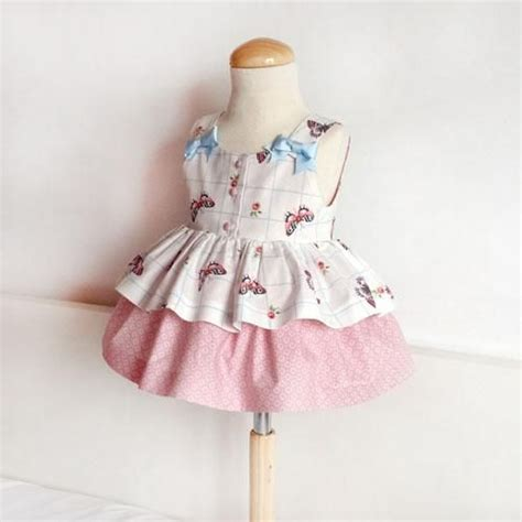como hacer un vestido de invierno para nena de 4ao vestido para ni 241 a con mariposas diy tela patrones and