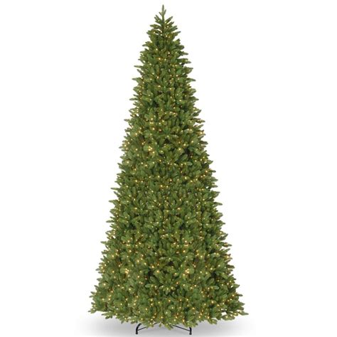 14 ft tree national tree company 14 ft ridgewood spruce slim