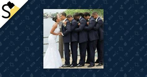 FACT CHECK: Does a Picture Depict Groomsmen Supporting a