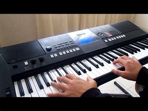 Tutorial Sling Keyboard Yamaha | yamaha psr e423 la oreja de van gogh dulce locura