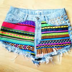 colorful shorts cut diy shorts pictures photos and images for