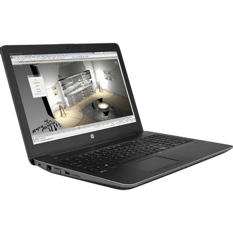 hp zbook mobile workstations hp 15 6 quot zbook 15 g4 mobile workstation 1jd32ut aba b h