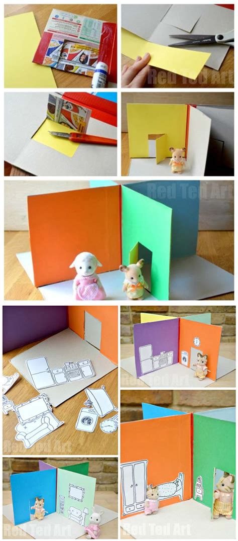 making doll house games 28 things you can make with cereal boxes diy kids crafts