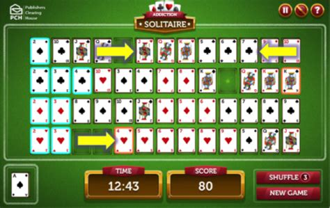 Pch Addiction Solitaire - are you craving a game of addiction solitaire pch playandwin blog