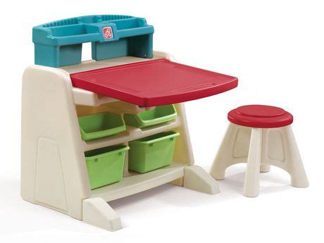 step2 flip and doodle easel desk step2 flip and doodle easel desk with stool walmart canada