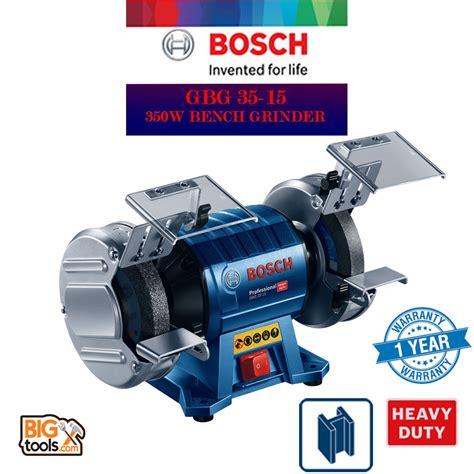 bosch bench grinder bosch gbg35 15 double wheeled bench grinder professional