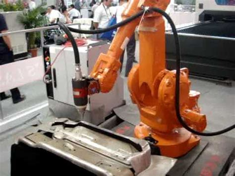 Robots Without Lasers laser welding applications with a 6 axis abb irb2400 robot