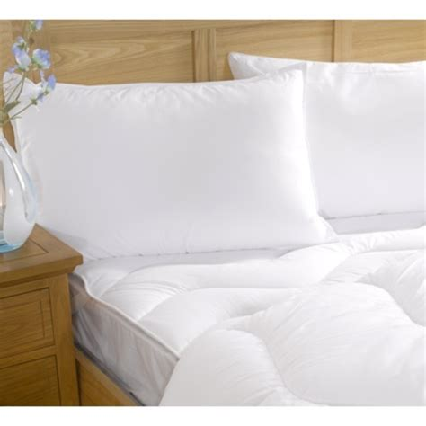 allergy bedding spundown washable anti allergy pillow by fine bedding and