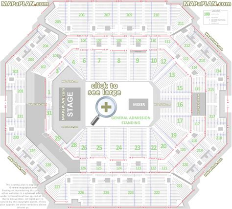 barclays center floor plan barclays center brooklyn nets concerts seat numbers