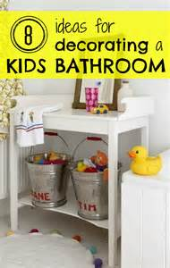 Remodelaholic 8 ideas for decorating a kids bathroom