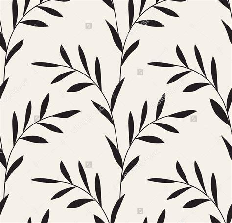 Black And White Leaf Pattern | 21 leaf design patterns textures backgrounds images