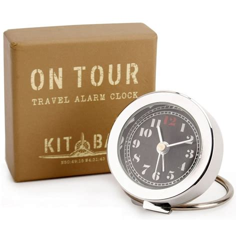 kitbag on tour travel alarm clock