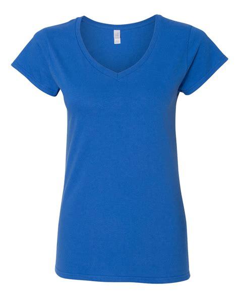 Kaospolos Gildan Softstyle V Neck gildan softstyle s v neck t shirt 64v00l ebay